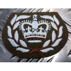 Warrant Officer Crown Badge, б/у