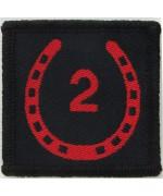 Нашивка 2-я Национальная бригада,б/у