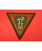 BRITISH ARMY 79TH ARMOURED DIVISION FORMATION BADGE BULL HEAD, б/у