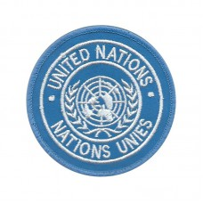 Badge Embroidered United Nations insignia