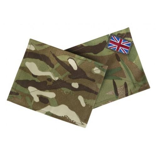 Комплект нарукавных патчей армии Великобритании, Multi-Terrain Pattern, б/у отличное состояние