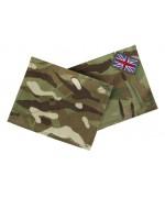 Комплект нарукавных патчей армии Великобритании, Multi-Terrain Pattern, б/у