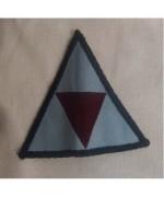 3-й полк АА(Воздушного Корпуса Армии, 16-ой воздушно-штурмовой бригады, ), голубой/красный, б/у