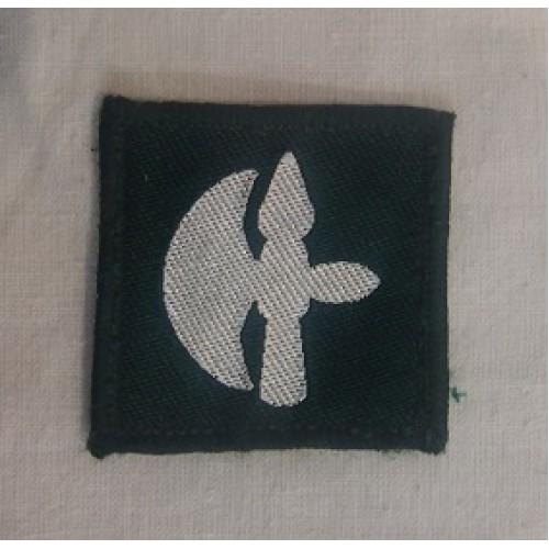Нашивка британской армии  102-бригады тылового обеспечения б/у