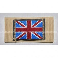 Флаг Великобритании на липучке, новый