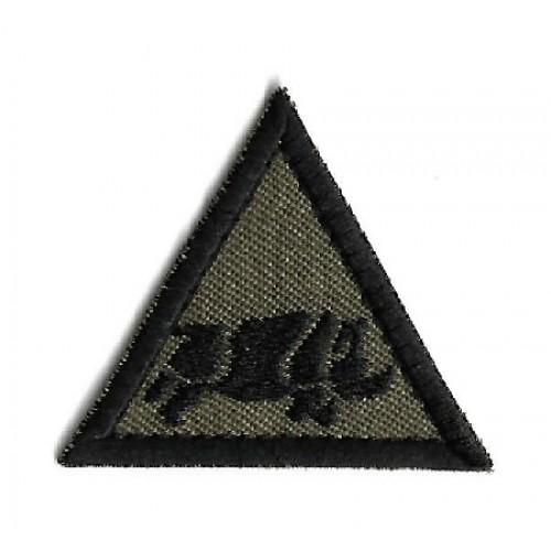 Нашивка 1 UK ARMOURED DIVISION армии Великобритании, олива, новая