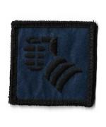 Нашивка 20th Armoured Brigade  армии Великобритании, б/у