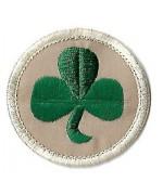 Нашивка  38TH IRISH BRIGADE армии Великобритании, новая