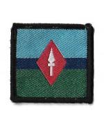 Нашивка 7 Signal Regiment армии Великобритании, б/у