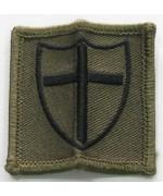 Нашивка армии Великобритании. 8 Force Engineer Brigade, б/у