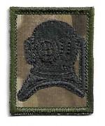 Нашивка Army Diver Qualification армии Великобритании, чёрная, новая