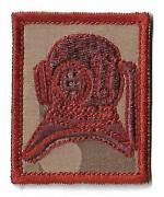 Нашивка Army Diver Qualification армии Великобритании, красная, новая