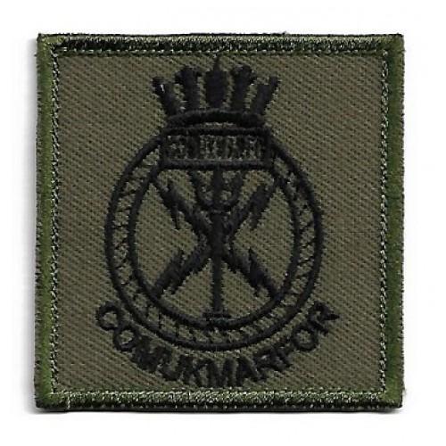 Нашивка COMUKMARFOR (Commander UK Maritime Forces) армии Великобритании, новая