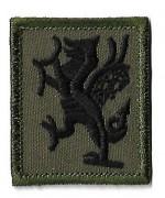 Нашивка Royal Regiment of Wales армии Великобритании, новая