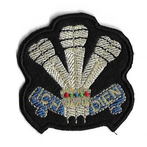 Нашивка Royal Scots Dragoon Guards Badge, армии Великобритании, новая