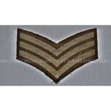 Нашивка SERGEANT армии Великобритании, б/у