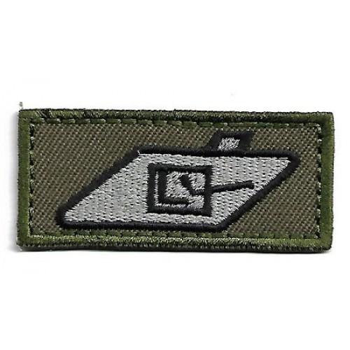 Нашивка Tank Crew Trade Badge - Royal Tank Regiment армии Великобритании, новая