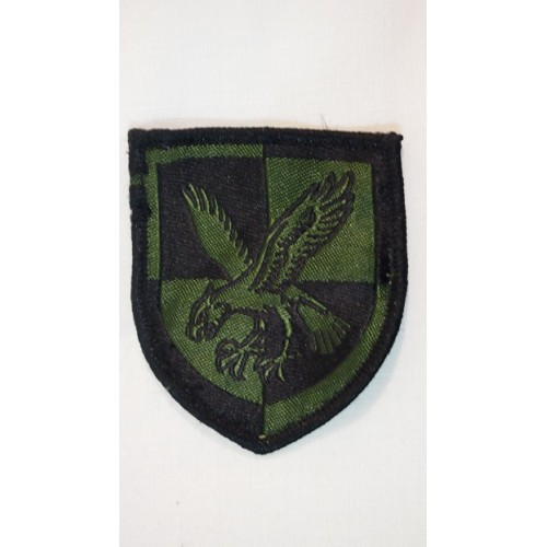 Нашивка ВДВ армии Великобритании, олива, б/у