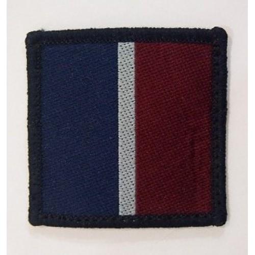 Нашивка ВВС армии Великобритании, синий/белый/красный, б/у