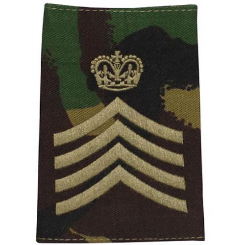 Погон армии Великобритании, DPM, новый 1 штука