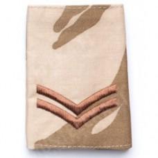 Погон CORPORAL армии Великобритании, DDPM, б/у