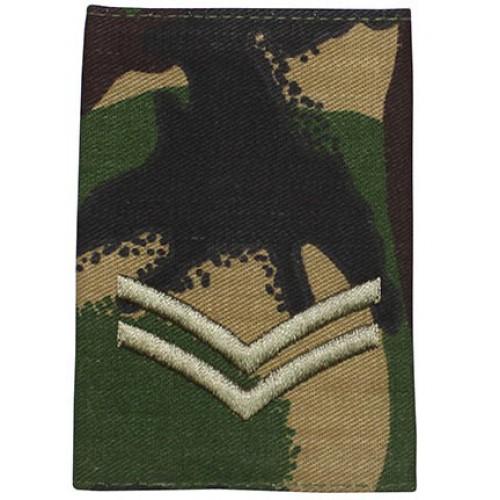 Погон CORPORAL армии Великобритании, DPM, новый 1 штука