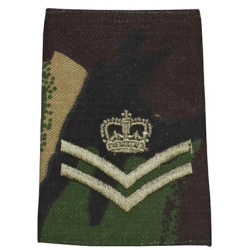 Погон CORPORAL OH армии Великобритании, DPM, новый 1 штука