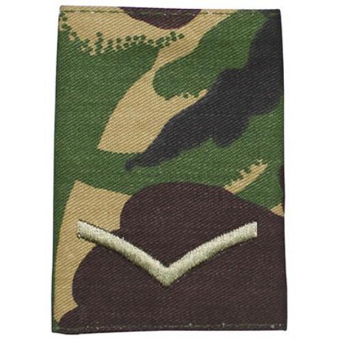 Погон LANCE CORPORAL армии Великобритании, DPM, новый 1 штука