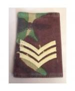 Погон SERGEANT армии Великобритании, DPM, б/у