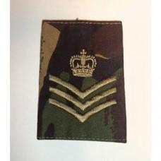 Погон STAFF SERGEANT армии Великобритании, DPM, новый 1 штука