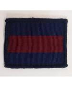 Шеврон  армии Великобритании, синий/красный, б/у