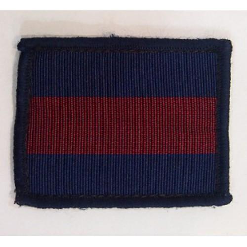 Нашивка Королевских Гвардейских полков, синий/красный, б/у